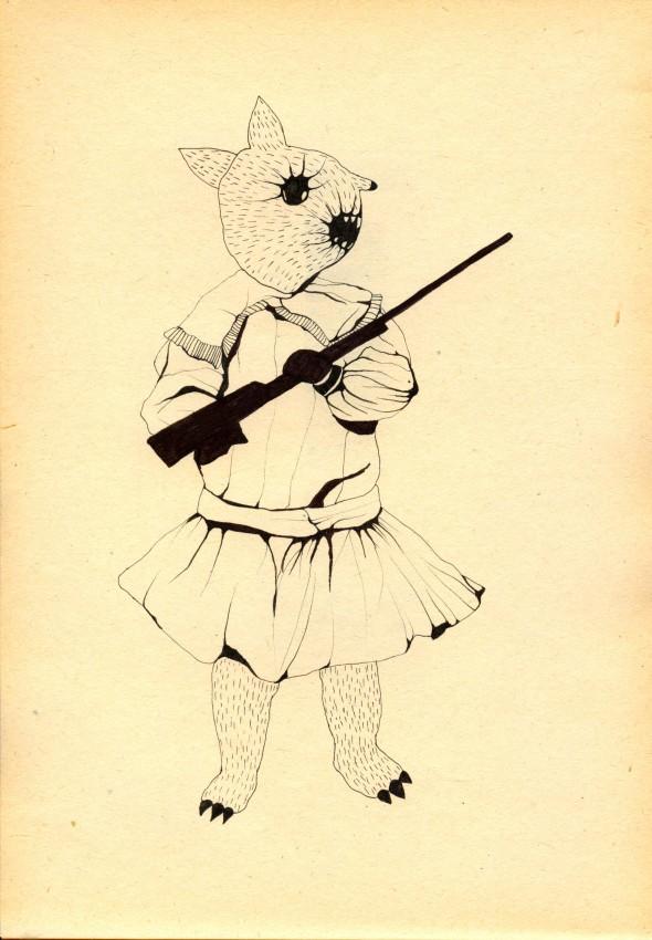 basia-banda-dziewczynka-ze-strzelba-2013