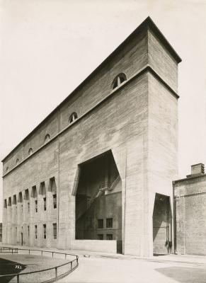 Kohlebunker,_Henschel_&_Sohn,_Kassel,_1917,_Architekt_Curt_von_Brocke,_Fotograf_unbekannt,_Landesmuseum_Oldenburg