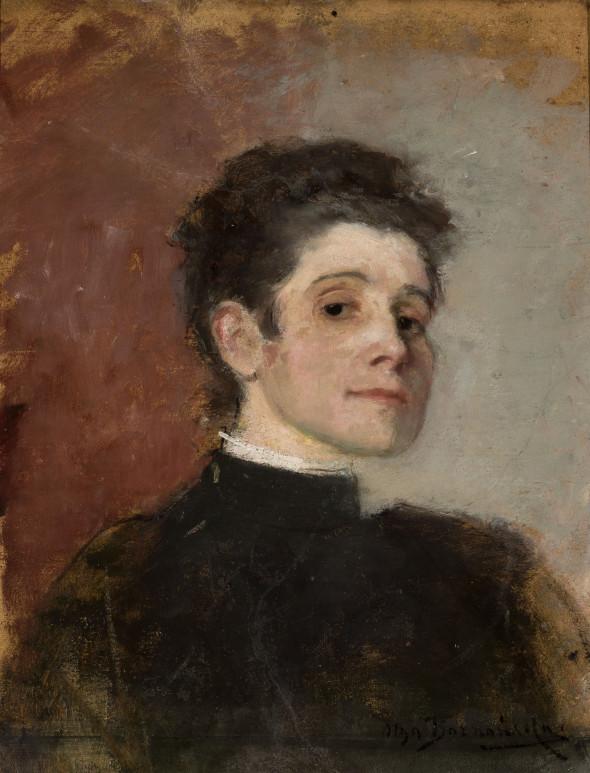 Olga Boznańska Autoportret 1896