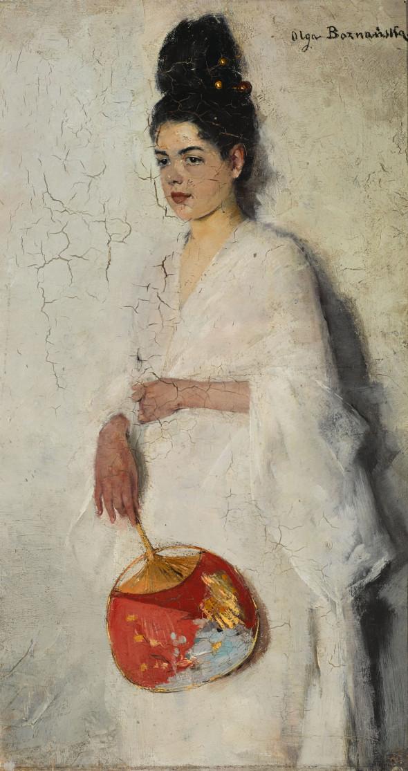 Olga Boznańska, Japonka, 1889