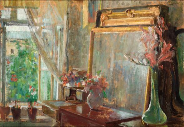 Olga Boznańska Wnętrze, 1906