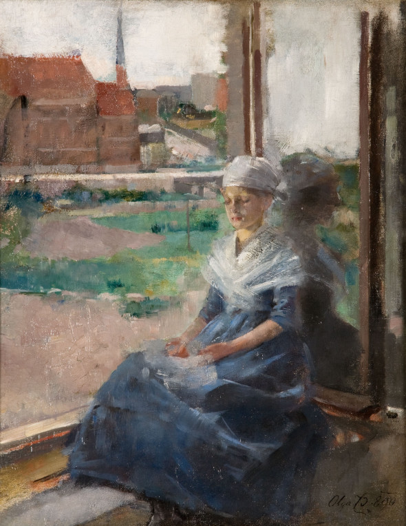 Olga Boznańska, Bretonka, 1890