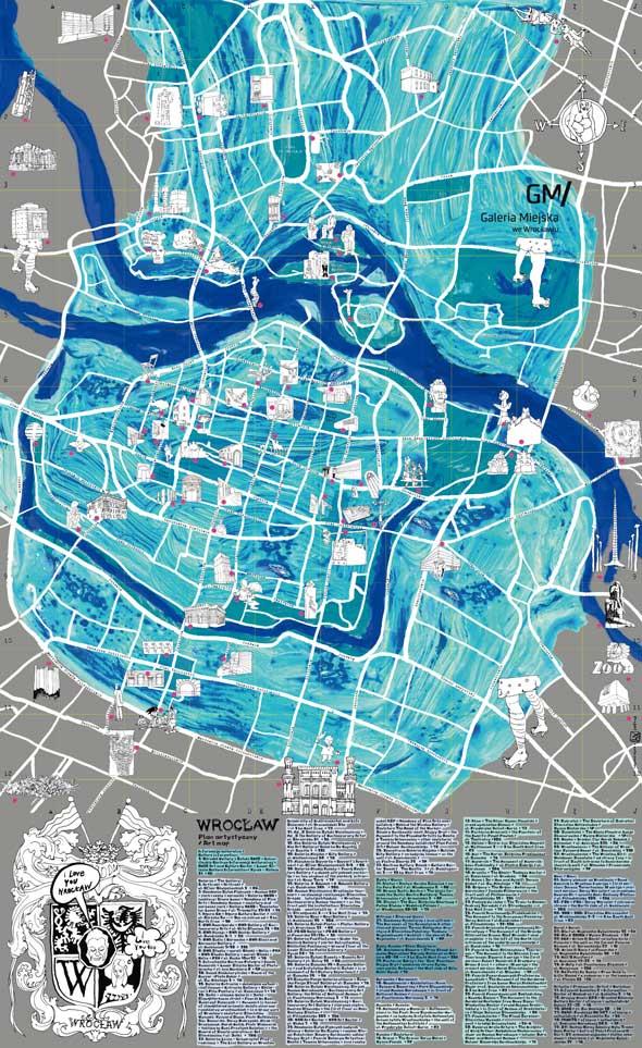 Art mapa