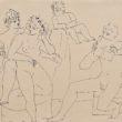 Erotyczne rysunki Picassa są rozkoszne. Pewną i delikatną linią kreśli figury męskie i kobiece. Lubi sceny grupowe – kilka kobiet odpoczywających nad basenem, albo jakaś mieszanina współczesności i mitologii, greccy […]