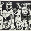"""Wstyd, ale jeszcze tydzień temu nie znałam ani powyższej świetnej pracy pt. """"Solarium"""", ani żadnych innych grafik Teresy Jakubowskiej. W latach 60. i 70. była na topie. Szybko nadrobiłam zaległości: […]"""